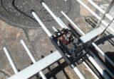 春なのに? 落雷によるアンテナ故障修理例